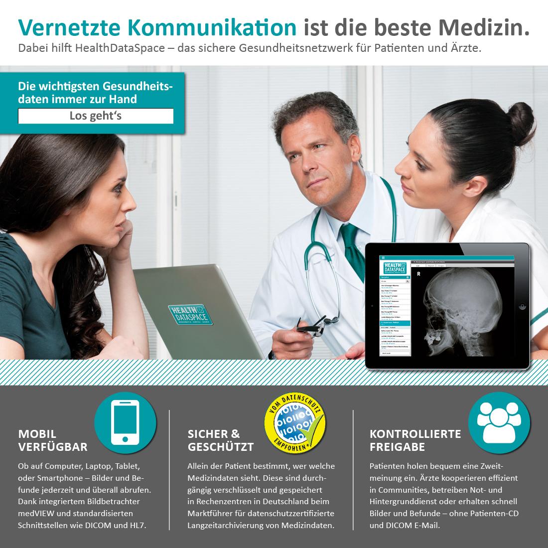 HealthDataSpace-Gesundheitsnetzwerk-Datenschutz