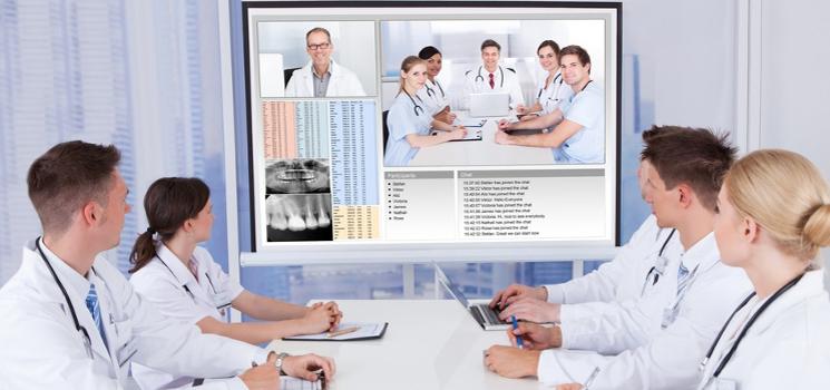 Arzt-Konsultation leicht gemacht - mit der HealthDataSpace Community u.a. als Online-Tumorboard