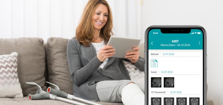 Produktneuheit: HealthDataSpace App für Android und iOS