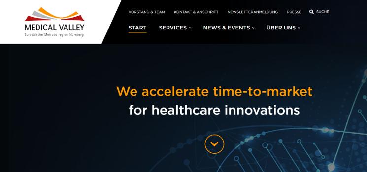 Mitgliedschaft bei Medical Valley EMN e.V.