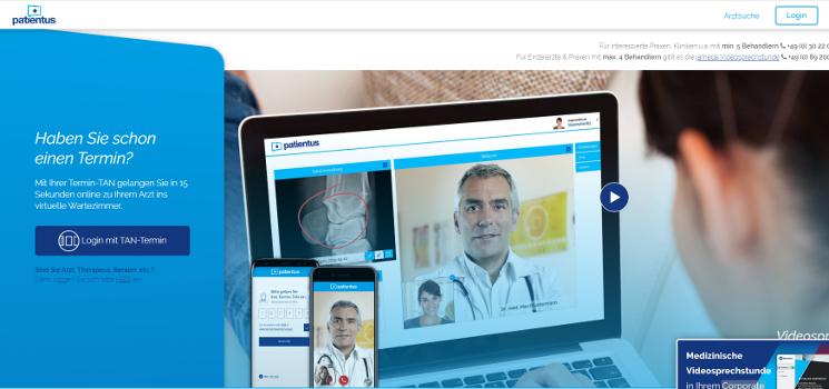 5 Health Apps für die Video-Sprechstunde