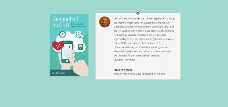 Buch-Empfehlung: Gesundheit im Griff mit Apps und smarten Geräten von Jörg Schiemann