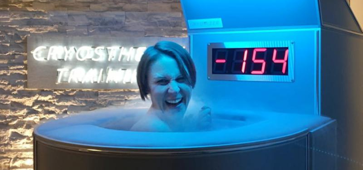 Fitness-Trend Kryotherapie: Wie hilft die Kältekammer unserem Körper?