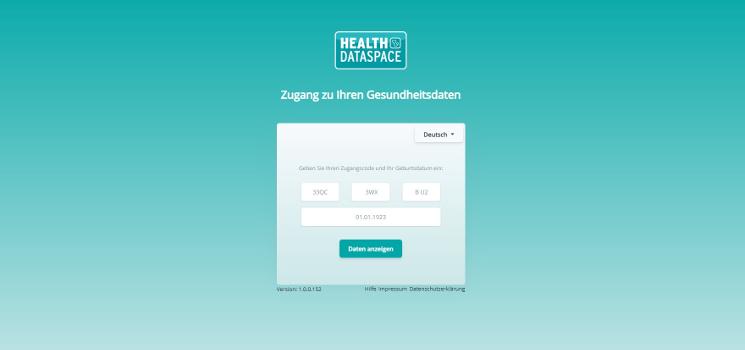 Neue Version für HealthDataSpace Zugangscodes: Mit 2-Faktor-Authentifizierung