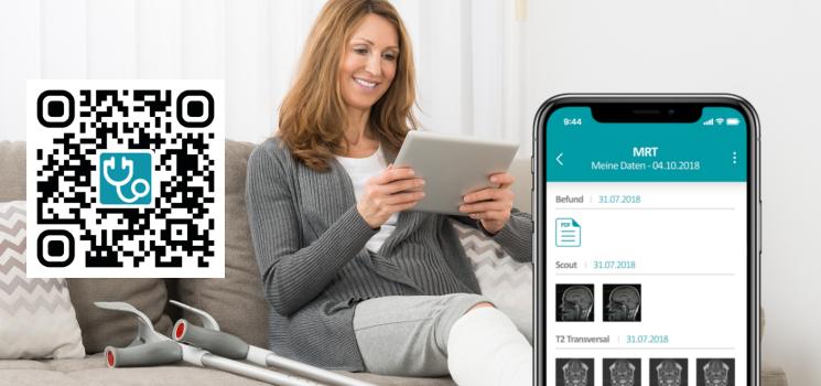 Neue App für HealthDataSpace Zugangscodes