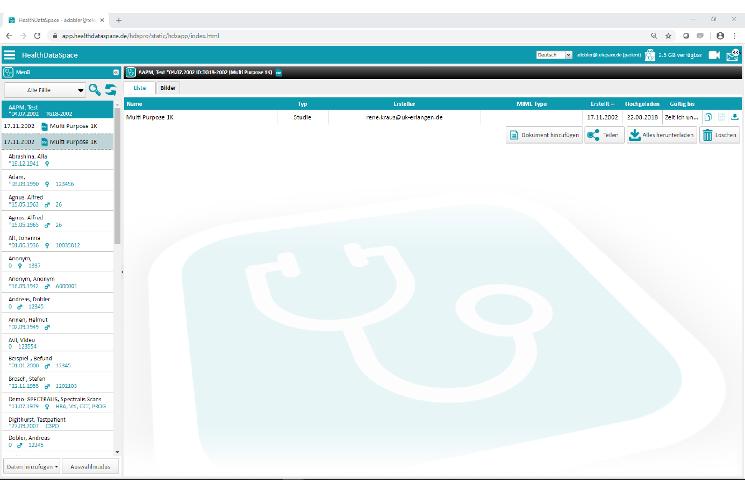 Bedientipp: So laden Zuweiser die Patientendaten aus Zugangscodes herunter
